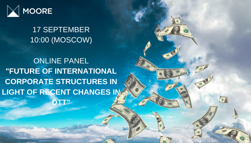 "Online Panel ""FUTURE OF INTERNATIONAL CORPORATE STRUCTURES IN LIGHT OF RECENT CHANGES IN DTT"""